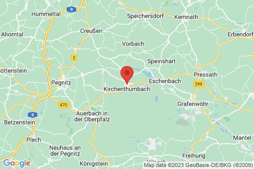 Karte Kirchenthumbach