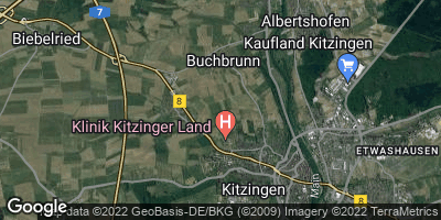 Google Map of Buchbrunn