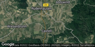 Google Map of Castell