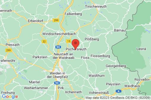 Karte Püchersreuth