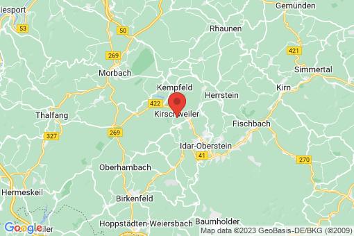 Karte Kirschweiler