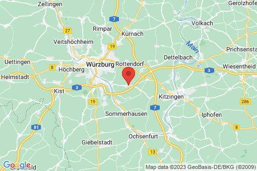 Karte Theilheim