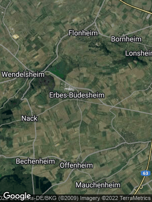 Google Map of Erbes-Büdesheim