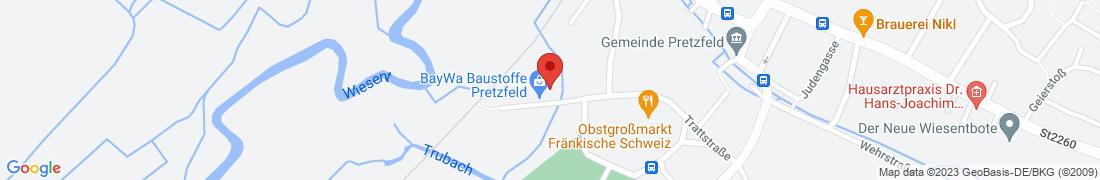 BayWa Technik Pretzfeld Anfahrt