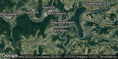 Google Map of Wertheim am Main