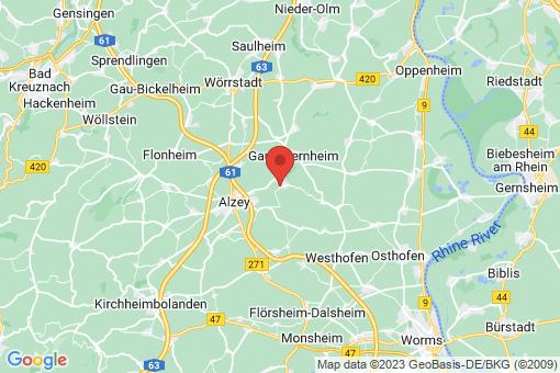 Karte Framersheim