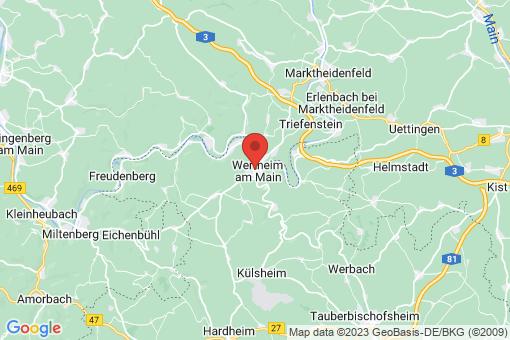 Karte Wertheim