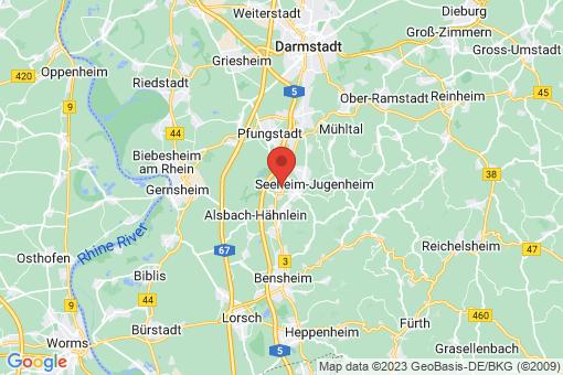 Karte Bickenbach