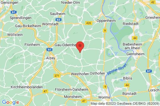 Karte Frettenheim