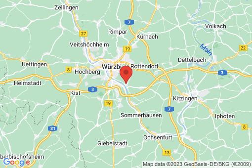 Karte Randersacker