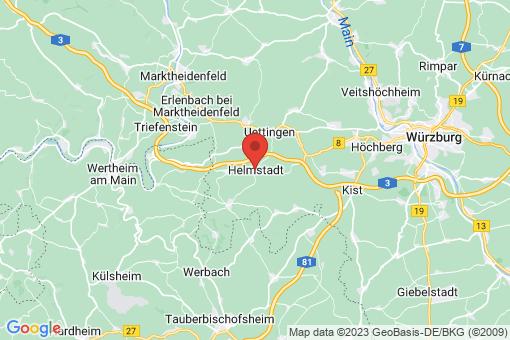 Karte Helmstadt