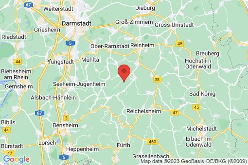Karte Fischbachtal