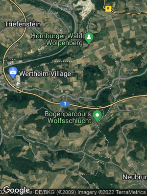 Google Map of Dertingen