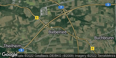 Google Map of Biebelried