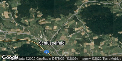 Google Map of Schlüsselfeld