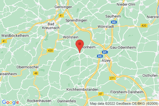 Karte Wendelsheim