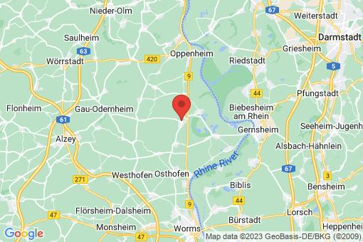 Karte Alsheim
