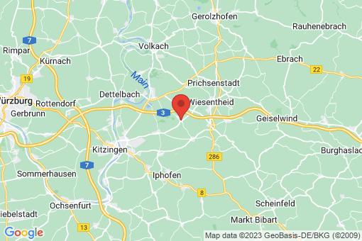 Karte Kleinlangheim
