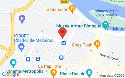 24 Rue Baron-Quinart, 08000 Charleville-Mézières, France