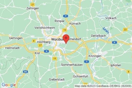 Karte Gerbrunn