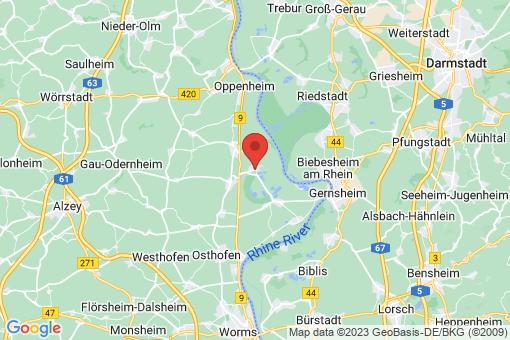Karte Gimbsheim
