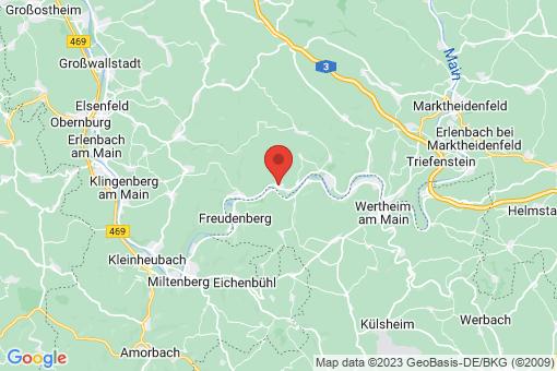 Karte Dorfprozelten