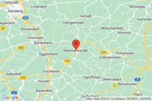 Karte Ebermannstadt