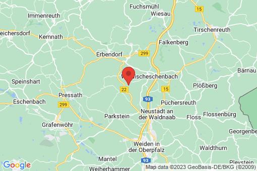 Karte Kirchendemenreuth