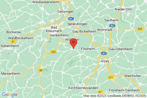 Karte Wonsheim
