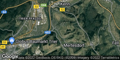 Google Map of Eitelsbach