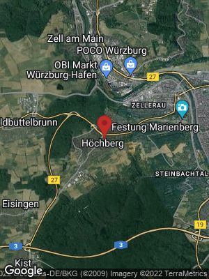 Google Map of Markt Höchberg