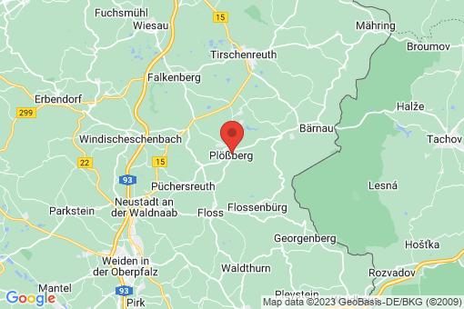 Karte Plößberg