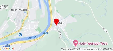 Google Map für Apartment Marlies