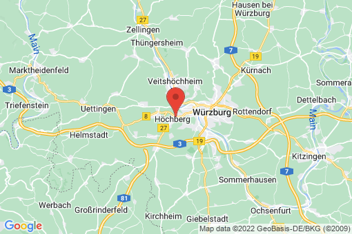Karte Höchberg