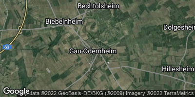 Google Map of Gau-Odernheim