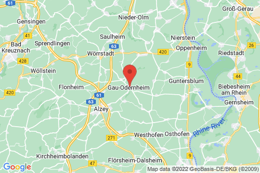 Karte Gau-Odernheim