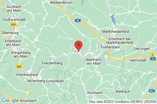 Karte Faulbach