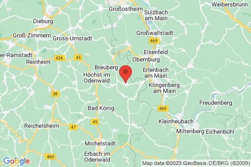 Karte Lützelbach