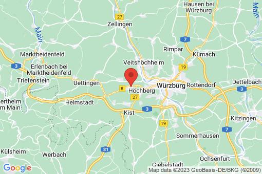Karte Waldbüttelbrunn