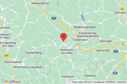 Karte Hasloch