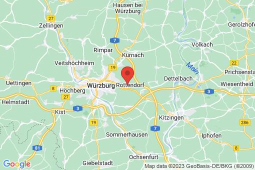 Karte Rottendorf
