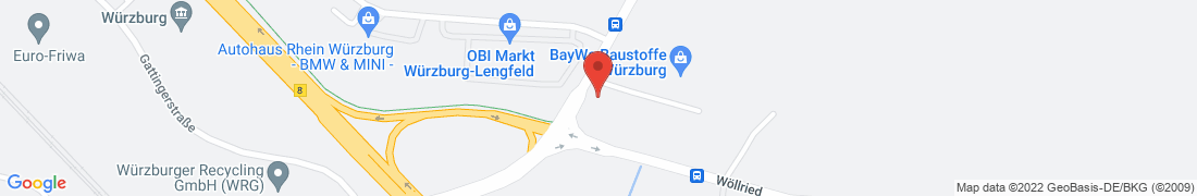 BayWa Haustechnik GmbH Würzburg Anfahrt