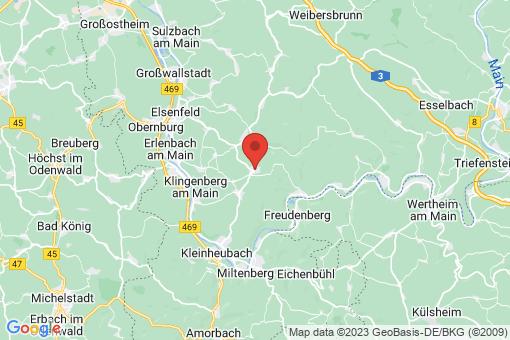Karte Mönchberg