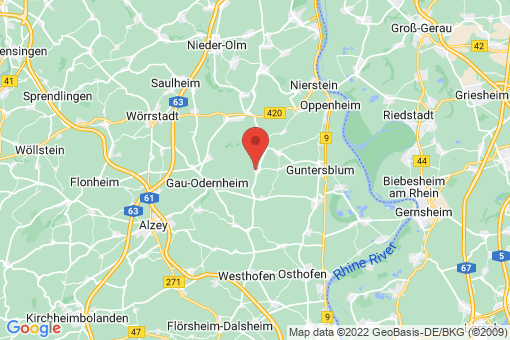 Karte Dolgesheim