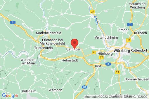 Karte Uettingen