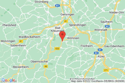 Karte Frei-Laubersheim