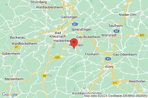 Karte Siefersheim