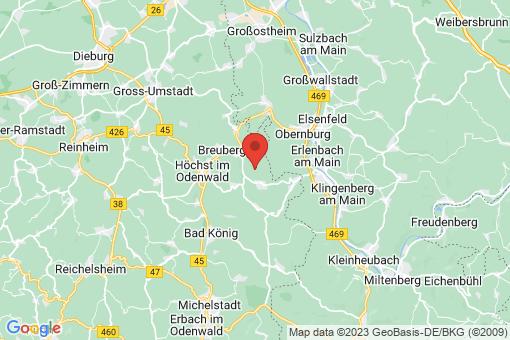 Karte Breuberg