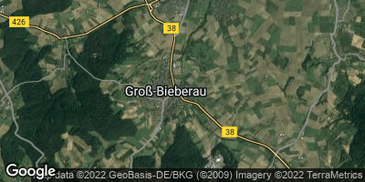 Google Map of Groß-Bieberau
