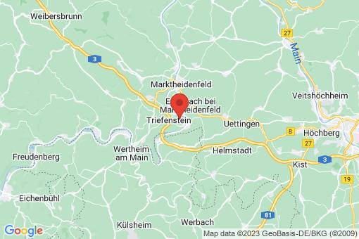 Karte Triefenstein